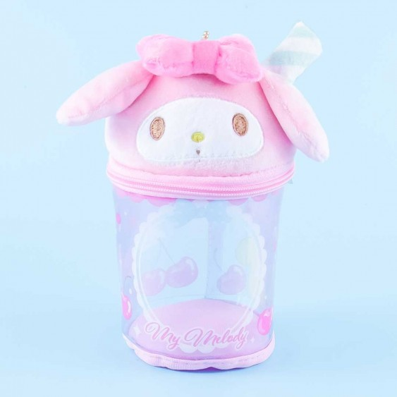 My Melody Cup Pouch & Plushie Charm