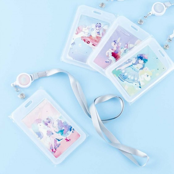 Magical Girl & Unicorn Cardholder