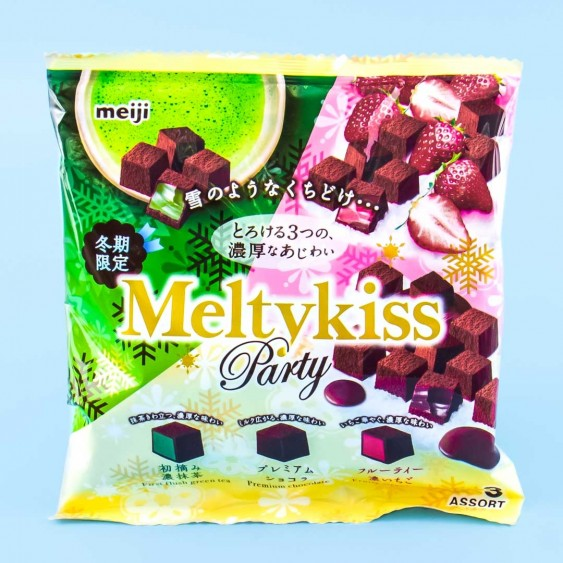 Meiji Melty Kiss Winter Party Pack