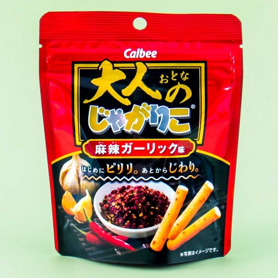 Calbee Adult Jagariko Potato Snacks - Mala Garlic