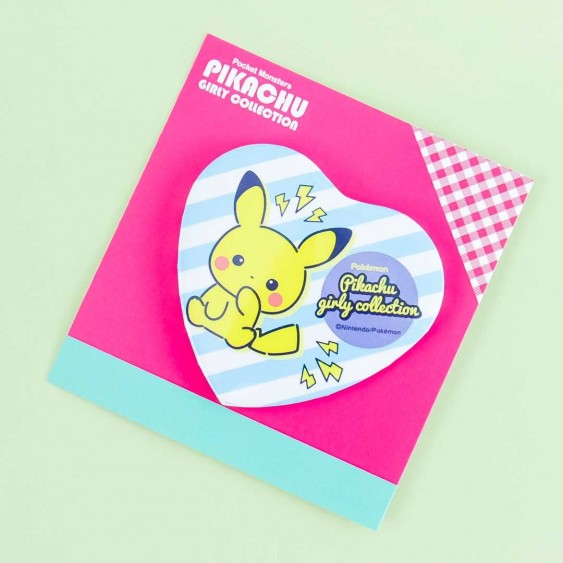 Pokemon Electric Pikachu Heart-Shaped Badge