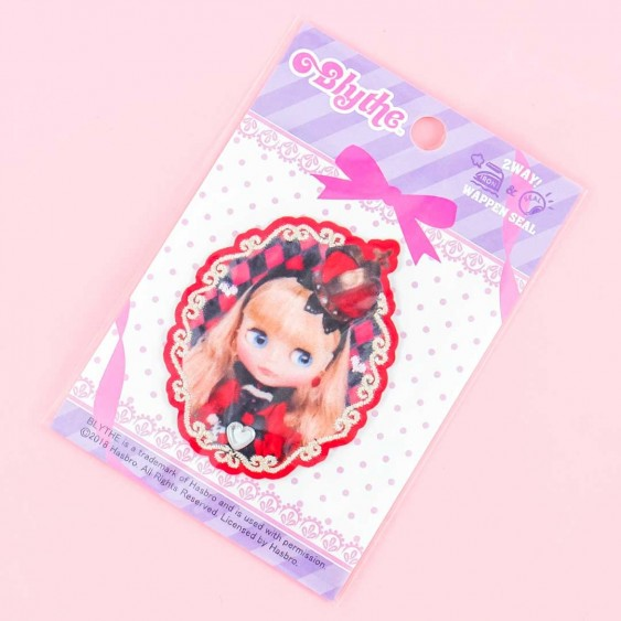Blythe Red Queen 2-Way Iron-On Patch