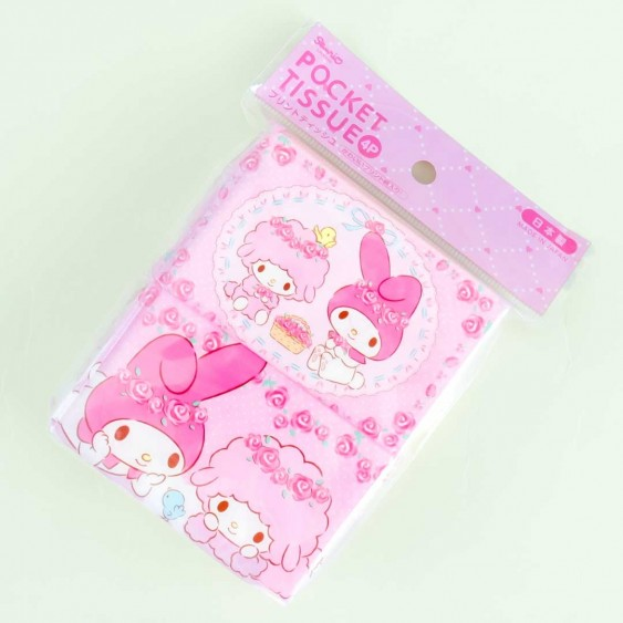 My Melody With Friends Pocket Tissues - 4 pcs