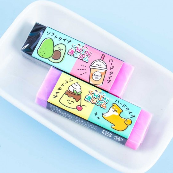 Kawaii Twins Scented Eraser