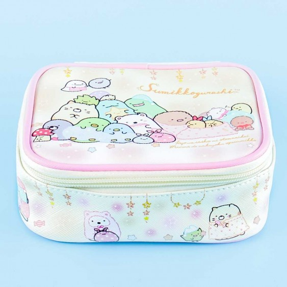 Sumikko Gurashi Starry Lights Square Cosmetic Pouch