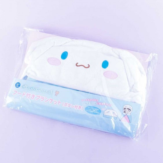 Cinnamoroll Fluffy Hooded Blanket
