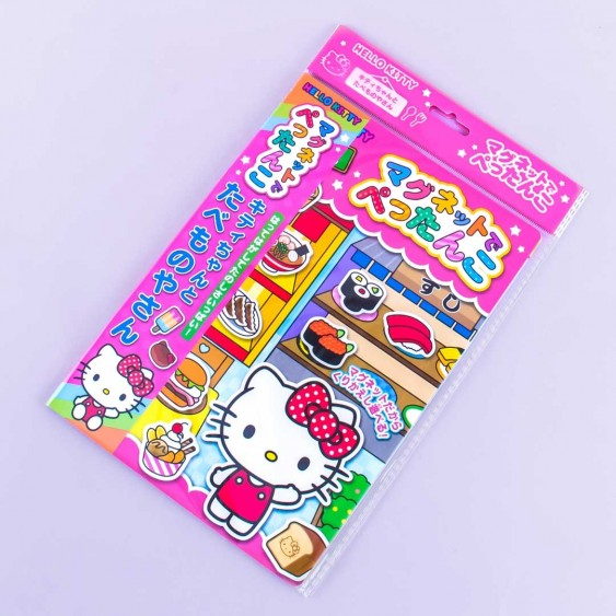 Hello Kitty Food Court Magnet Picture Book Set
