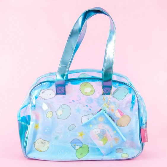 Sumikko Gurashi Marine World Clear Boston Bag