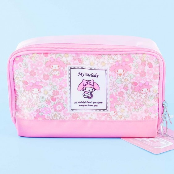 My Melody Flowery Cosmetic Pouch