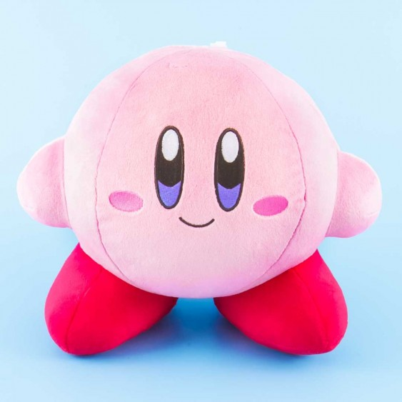 Kirby Adventure All Star Collection Smiling Plushie - Medium