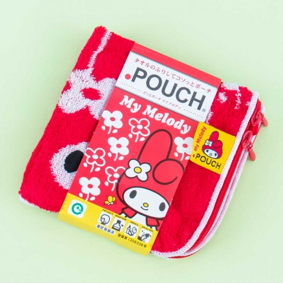 My Melody Flowery Towel Pouch