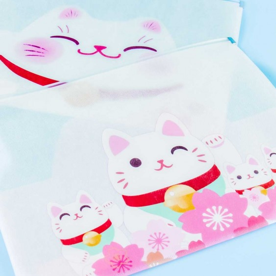 Fortune Cats Pouch Envelope