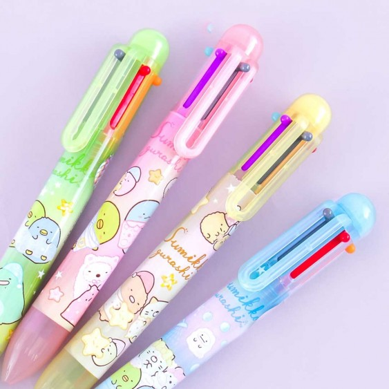 Sumikko Gurashi Happy Friends Multi-Color Pen