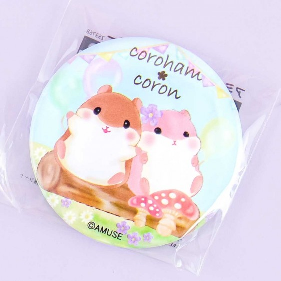 Coroham Coron Summer Party Pocket Mirror