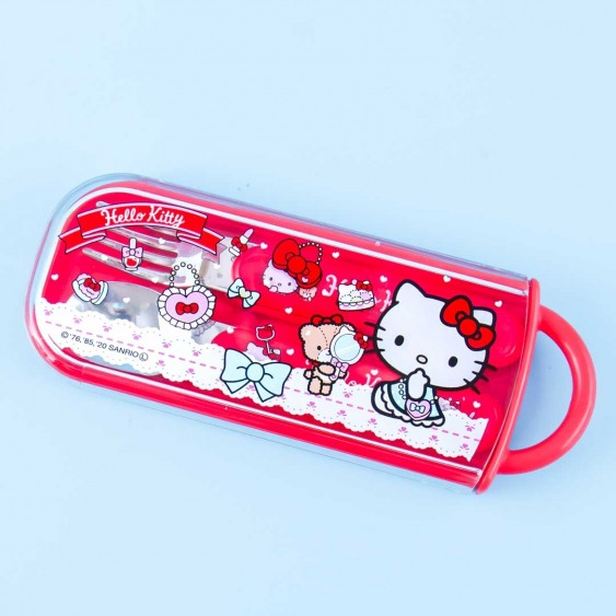 Hello Kitty Lace Accessories Utensil Set