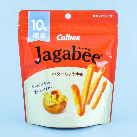 Jagabee Potato Snack Pouch - Butter Soy Sauce