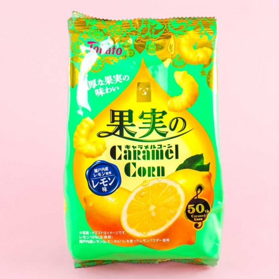 Tohato Fruit Caramel Corn - Lemon