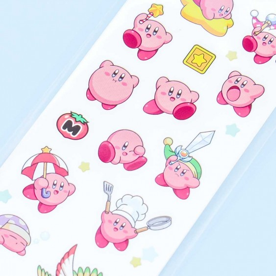 Kirby Playtime Collection Stickers