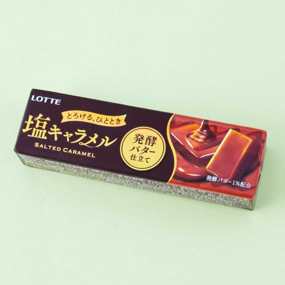 Lotte Salted Caramel Candy