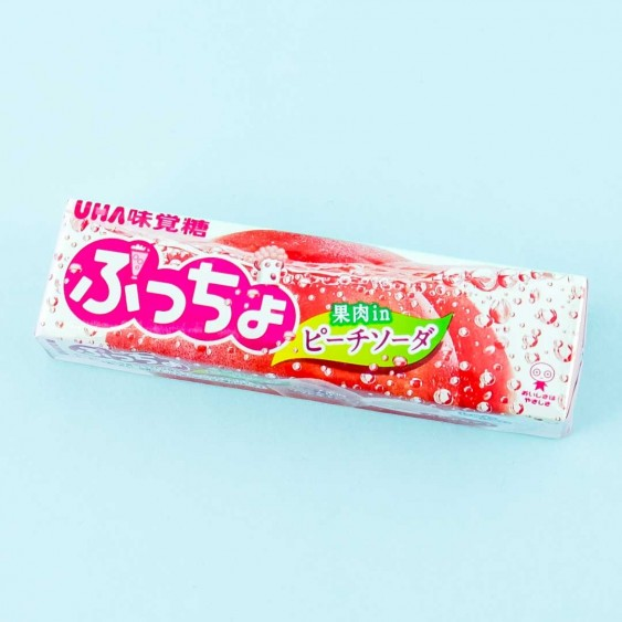 Puccho Chewy Candy - Peach Soda