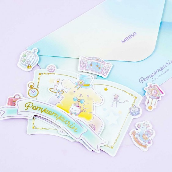 Pompompurin Magical Place Pop-Up Greeting Card