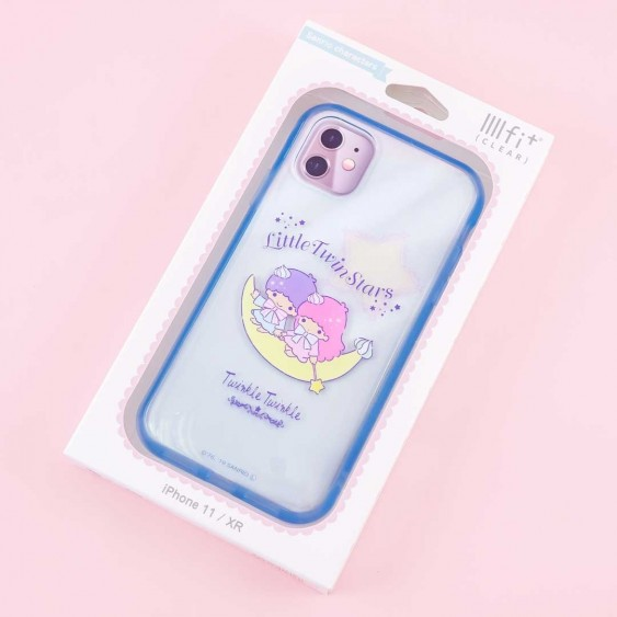 Little Twin Stars Protective Clear Case for iPhone 11 / XR