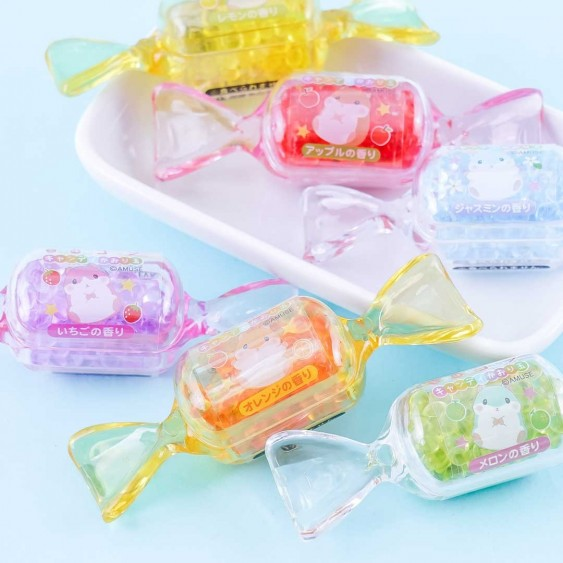 Coroham Coron Candy Case with Scented Beads