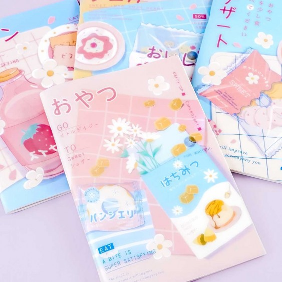 Sweets & Snacks Notebook