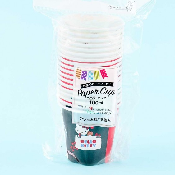 Hello Kitty Paper Cup Set