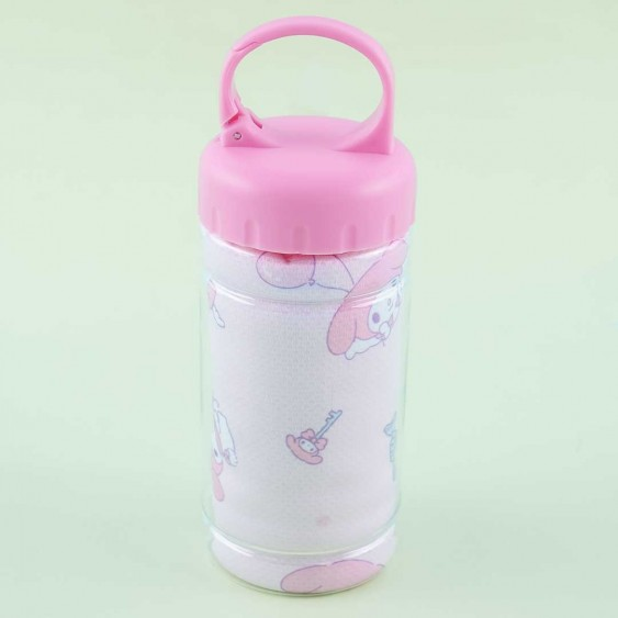 My Melody Cooling Towel & Bottle Set