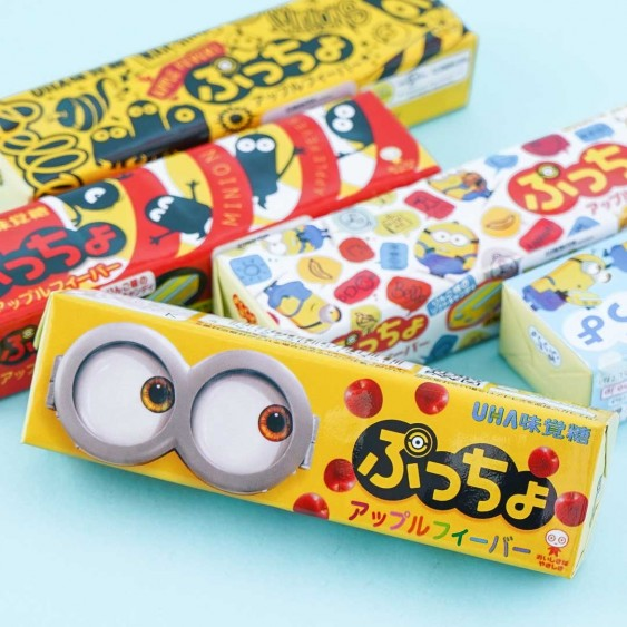 Minions Puccho Chewy Candy - Apple