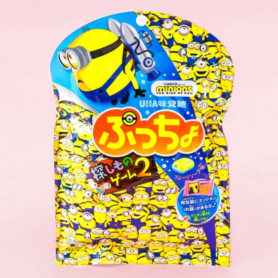 Minions Puccho Chewy Candy - Banana Fruit Soda