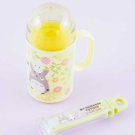 My Neighbor Totoro Flowery Toothbrush Set With Cup