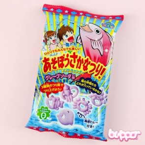 Kracie Fishing Game Candy - Grape flavour