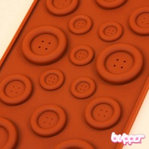 Small Silicon Mold - Buttons