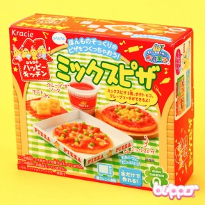 Kracie Happy Kitchen Pizza Meal DIY Candy Kit