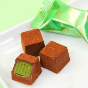 Meltykiss Winter Green Tea Chocolates