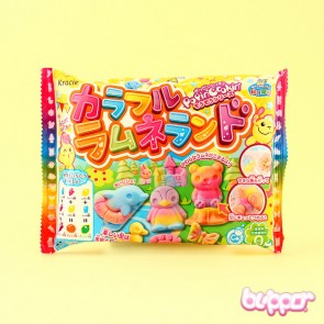 Kracie Popin' Cookin' Colorful Ramune Land DIY Candy Kit