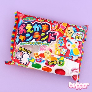 Kracie Popin' Cookin' Oekaki Animal Candy Land DIY Kit