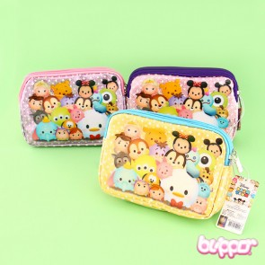 Tsum Tsum Double Zipper Purse