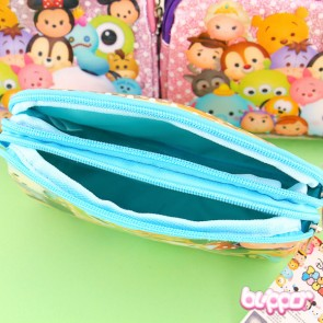 Tsum Tsum Double Zipper Pouch