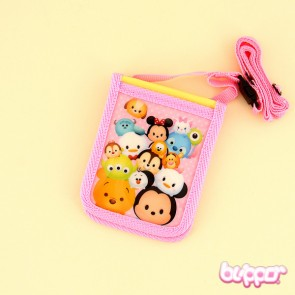 Tsum Tsum Card Holder With Neck Strap