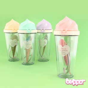Soft Ice Cream Drinking Bottle