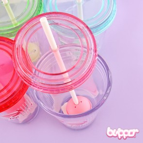 Lollipop Infuser Drinking Cup With Straw