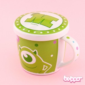 Monsters University Glazed Mug With Lid