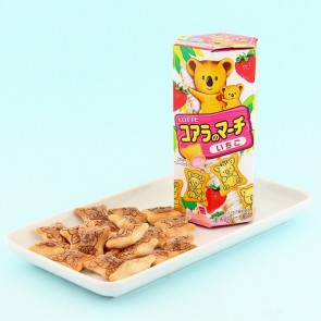 Lotte Koala March Strawberry Cookies