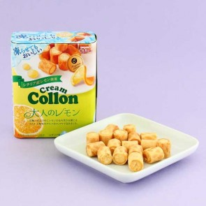 Glico Collon Biscuit Roll - Lemon