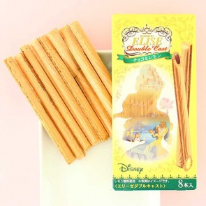 Elise Double Cast Lemon & Chocolate Wafer Sticks - Beauty & The Beast