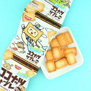 Nissin Coconut Mini Sable Biscuit Set - 4 pcs
