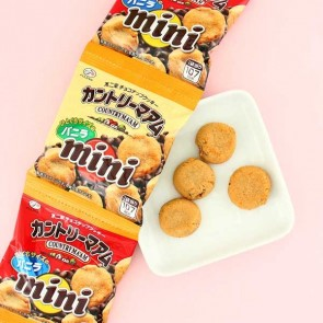 Fujiya Country Ma'am Mini Vanilla Cookie Set - 4 pcs